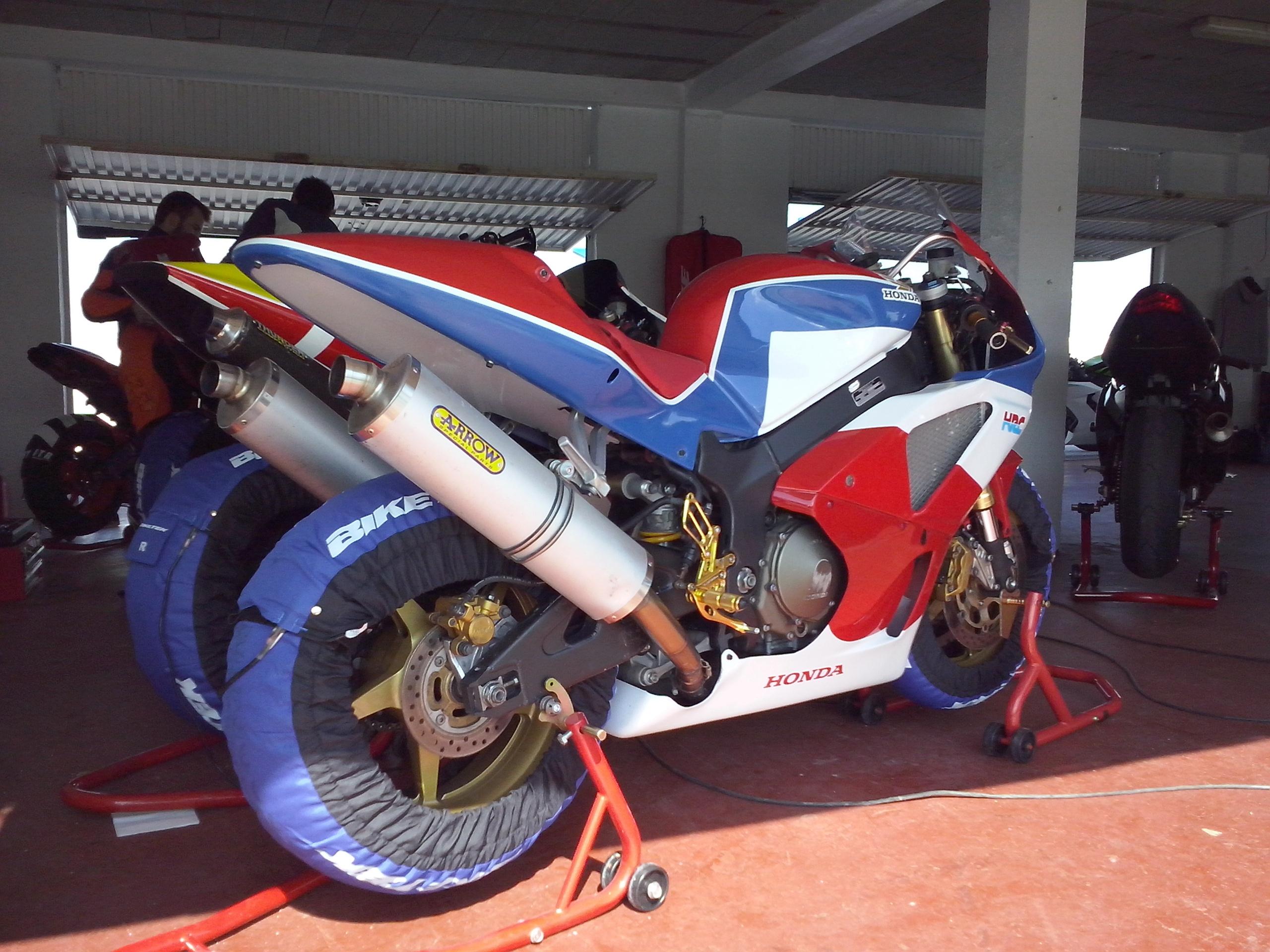 Tandas de motos
